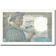 France, 10 Francs, 1941, 1941-10-09, KM:99b, SUP, Fayette:8.2 - 1871-1952 Circulated During XXth