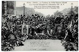 Paris Le Tombeau Du Soldat Inconnu Inhumé 1920 - Weltkrieg 1914-18