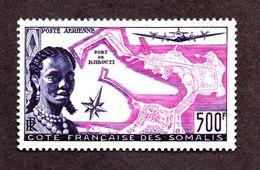 Cote Des Somalis PA N°25 N** LUXE Cote 85 Euros !!! - Unused Stamps