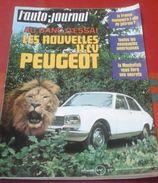 L'Auto Journal N°21 Octobre 1970 Steve Mac Queen, Essai Peugeot 504, Les Bombes Des Années 30 Traction, Nervastella... - Auto/Motorrad