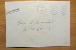 61e Régiment D'artillerie - Bureau Postal Militaire 526 De TREVES (Allemagne - 1995) - Postmark Collection (Covers)