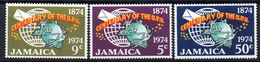 Serie Nº 395/7  Jamaica - Jamaica (1962-...)