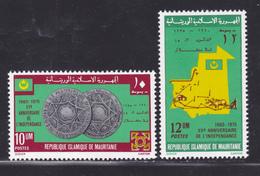 MAURITANIE N°  342 & 343 ** MNH Neufs Sans Charnière, TB (D3058) Anniversaire Indépendance - Mauritanie (1960-...)