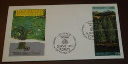 UNO Rettet Den Wald Forets Forests 1988         #cover 4101 - Umweltschutz Und Klima