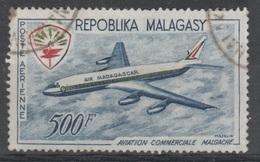 Madagascar, Air Madagascar, Douglas DC-8, 1963, VFU  Airmail - Madagascar (1960-...)