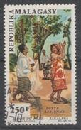 Madagascar, Sakalava Dance, 1966, VFU  Airmail - Madagascar (1960-...)