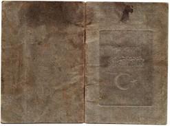 OTTOMAN TURKEY TURQUIE TURCHIA TURKEI 1893 GREECE DRAMA OLD DOCUMENT PERFECT CONDITION VERY RARE - Old Paper