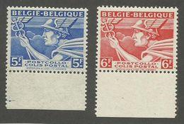 BELGIQUE - N°YT 289A/90A NEUFS** SANS CHARNIERE - COTE YT : 0.60€ - 1945 - België