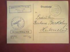 Carte De Convocation Arbeitsamt - 09.09.1942 - Luxembourg - Wiltz - Luxembourg
