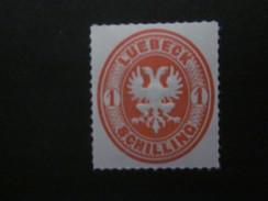 Lübeck Nr. 9 Postfrisch** / NACHDRUCK - Luebeck