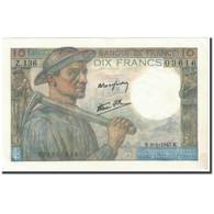 France, 10 Francs, 10 F 1941-1949 ''Mineur'', 1947, 1947-01-09, KM:99e, SPL+ - 1871-1952 Circulated During XXth