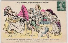 Illustrateur Assus - Une Audition De Phonographe En Algerie - Caricature - Altre Illustrazioni