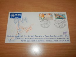 Australia 1984 Air Mail Cover To Papua New Guinea__(L-7562) - Luftpost