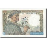 France, 10 Francs, 1942, 1942-11-26, KM:99e, SPL+, Fayette:8.6 - 1871-1952 Anciens Francs Circulés Au XXème