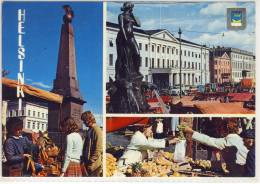 HELSINKI FINLAND HELSINGFORS USED 1982 SVEABORG NICE STAMP - Finlande