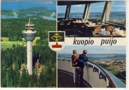KUOPIO PUIJO FINLAND USED 1984 NICE STAMP - Finlande