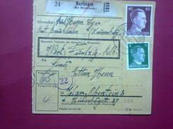 Paketkarte - Harlingen-Idar Oberstein - Luxembourg