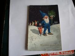 Dwarf Elf    Hristos Se Rodi Meissner  Buch Leipzig Kunstkarte Nr 3227 - Noël