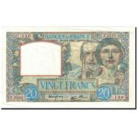 France, 20 Francs, 1941, 1941-04-03, KM:92b, SUP, Fayette:12.13 - 1871-1952 Anciens Francs Circulés Au XXème