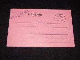 Germany 1917 Feldpost Brief__(L-6321) - Germania