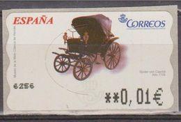 ESPAÑA ATM SPIDER CON CAPOTA. COCHES - CARS. NUEVO - MNH - Coches