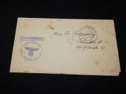 Germany 1938 Munster Nazi Letter__(L-6279) - Alemania