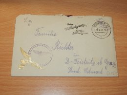 Germany 1941 Dresden Feldpost Cover__(L-7340) - Germania