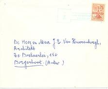 869/25 -  Poste Privée DISTRIFLASH - Lettre Du Dépot No 1 ANTWERPEN Vers BORGERHOUT - 1969/1970 - Belgique