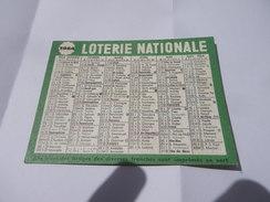 Calendrier De Poche 1964 LOTERIE NATIONALE - Calendars