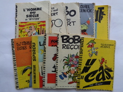 Lot De 10 Mini-bibliothèques Spirou - Books, Magazines, Comics