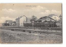 CPA 54 Conflans La Gare Et Le Train - Jarny