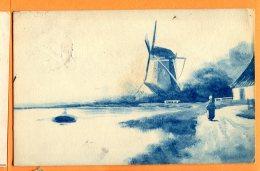 N210, Moulin, Mill, Mühle, Molen, Circulée 1911 - Cartes Postales