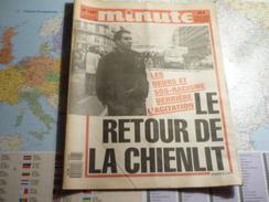 Minute N°1287 Du 5 Au 11 Décembre 1986 Les Beurs Et SOS-Racisme Derrière L'agitation/ Le Retour De La Chienlit - Politique