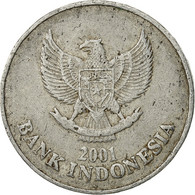 Indonésie, 100 Rupiah, 2001, TB+, Aluminium, KM:61 - Indonesia