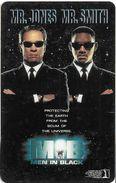 CARTE BANDE MAGNETIQUE CARTE CINEMA CINECARTE THAILANDE  FILM MEN IN BLACK MIB MR. JONES M. SMITH - Cinema