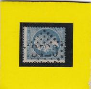 N° 22   GC  3420  SOISSONS  /  AISNE  REF 9820  + BEAU PIQUAGE - 1862 Napoleon III