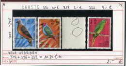 Neue Hebriden - New Hebrides - Nouvelles-Hebrides - Michel 324 + 326 + 332 -  ** Mnh Neuf Postfris - Birds Oiseaux Vögel - Englische Legende