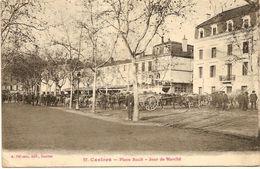 TARN CASTRES Place Soult  Jour De Marché - Castres