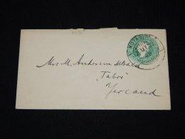 India 1902 Kotagiri Stationery Envelope__(L-5630) - Buste
