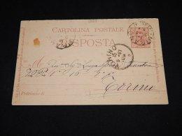 Italy 1897 Mirano Stationery Card__(L-5524) - Entero Postal