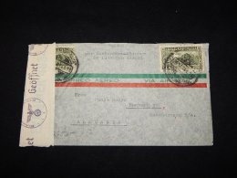 Mexico 1941 Censored Cover To Germany__(L-5757) - Mexique