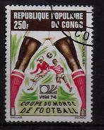 CONGO  PA 188  Oblitere  Cup  1974  Football  Soccer Fussball - Coppa Del Mondo
