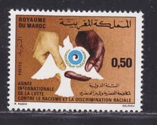 MAROC N°  618 ** MNH Neuf Sans Charnière, TB  (D3082) Année Internationale De La Lutte Contre Le Racisme - Marokko (1956-...)