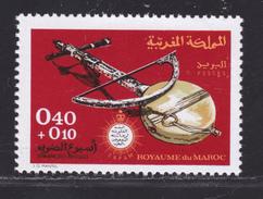 MAROC N°  619 ** MNH Neuf Sans Charnière, TB  (D3083) Semaine Des Aveugles - Marokko (1956-...)