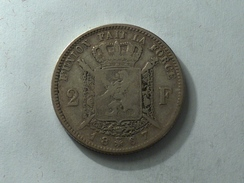 BELGIQUE 2 FRANC F 1967  ARGENT SILVER Belgium Francs - 1865-1909: Leopold II