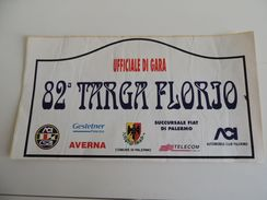 X BIG Dimension Cm. 21X42 Adesivo Stiker Etiqueta PLACCA RALLY 82 TARGA FLORIO Ug - Non Classificati