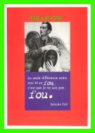 CÉLÉBRITÉS - SALVADORE DALI - LA SEULE DIFFÉRENCE ENTRE MOI ET UN FOU, C'EST QUE JE NE SUIS PAS FOU - - Personnages Historiques