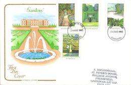 40 Anivº Du Trône De La Reine Elizabeth II  1992 FDC Grande-Bretagne Yvert 1606/10 - FDC