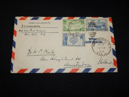USA 1941 New York Air Mail Cover To Netherlands__(L-5877) - 2c. 1941-1960 Lettres