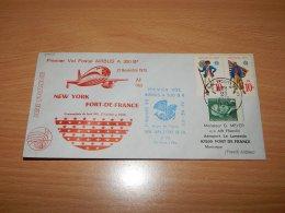 USA 1975 Air France First Flight New York-For De France__(L-7568) - Vereinigte Staaten